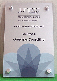 APAC JNAEP Partner 2013 - Silver Award