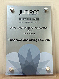 APAC JNAEP Satisfaction Awards 2015 - Gold Award