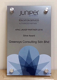 APAC JNAEP Partner 2016 - Silver Award